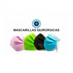 Mascarilla Quirúrgica IIR (10 unidades)